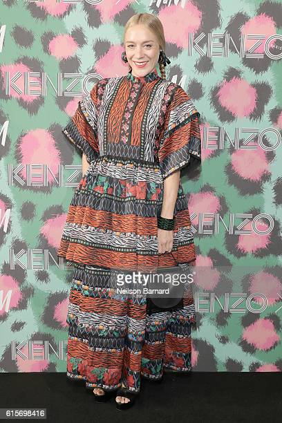 Chloë Sevigny attends KENZO x HM Launch Event Directed By JeanPaul Goude' at Pier 36 on October 19 2016 in New York City