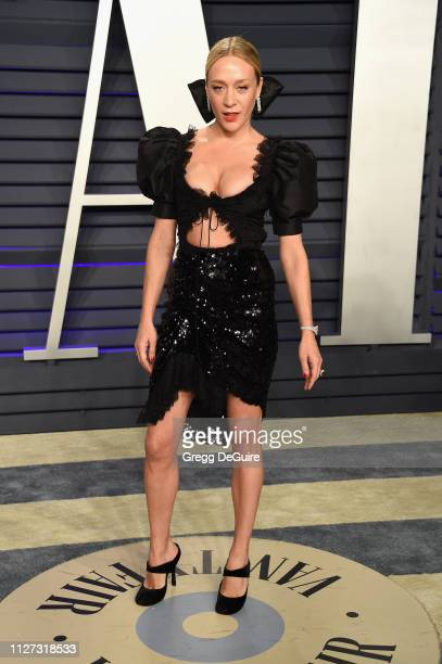 Chloë Sevigny attends the 2019 Vanity Fair Oscar Party hosted by Radhika Jones at Wallis Annenberg Center for the Performing Arts on February 24 2019...