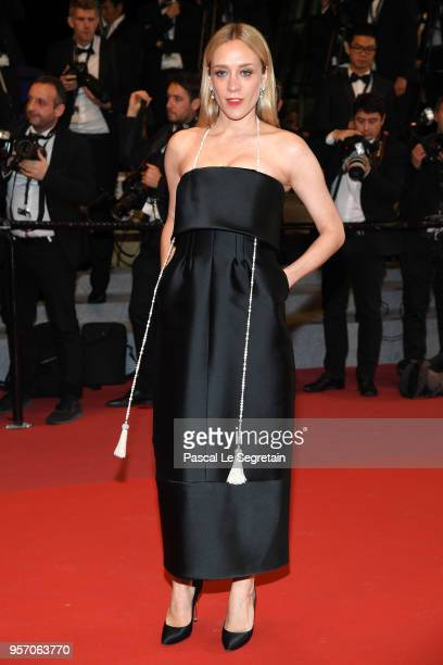 Chloë Sevigny attends the screening of Cold War during the 71st annual Cannes Film Festival at Palais des Festivals on May 10 2018 in Cannes France