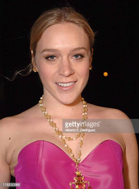 Chlo' Sevigny during Zodiac Los Angeles Premiere Arrivals at Paramount Studios in Hollywood California United States