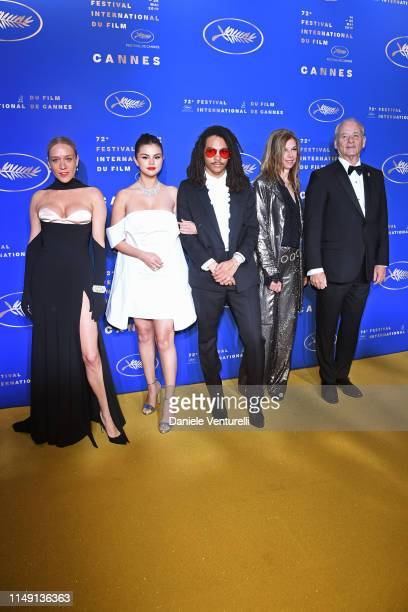 Chloë Sevigny Selena Gomez Luka Sabbat Sara Driver and Bill Murray arriving at the Gala Dinner during the 72nd annual Cannes Film Festival on May 14...