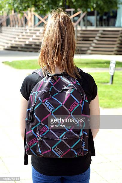 Chloe a 17yearold police cadet wears a Vans backpack that is similar in size and colour but a different design to the one worn by missing schoolgirl...