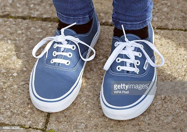 Chloe, a 17-year-old police cadet wears the same Vans trainers that were worn on the last known journey of missing schoolgirl Alice Gross as she...