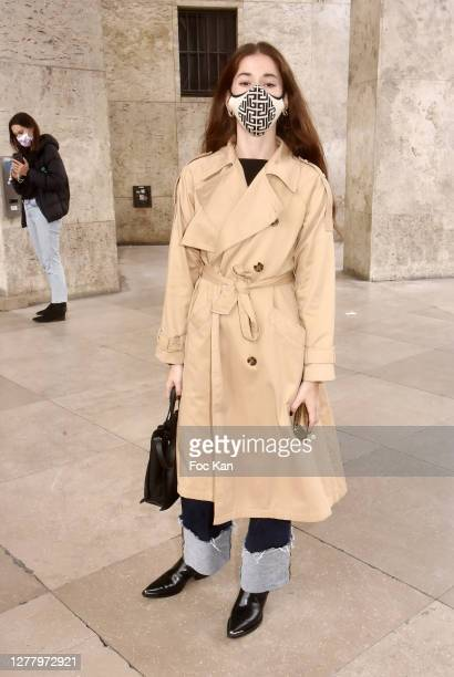 Chloe Ambre Maurin attends the Chloe Womenswear Spring/Summer 2021 show as part of Paris Fashion Week on October 01, 2020 in Paris, France.