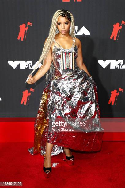 Chloe Bailey attends the 2021 MTV Video Music Awards at Barclays Center on September 12, 2021 in the Brooklyn borough of New York City.