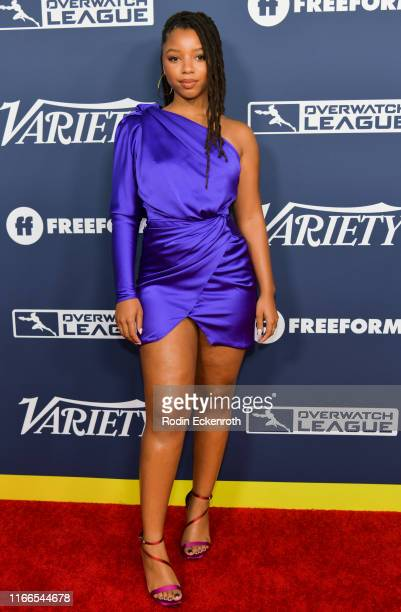 Chloe Bailey attends Variety's Power of Young Hollywood at The H Club Los Angeles on August 06 2019 in Los Angeles California