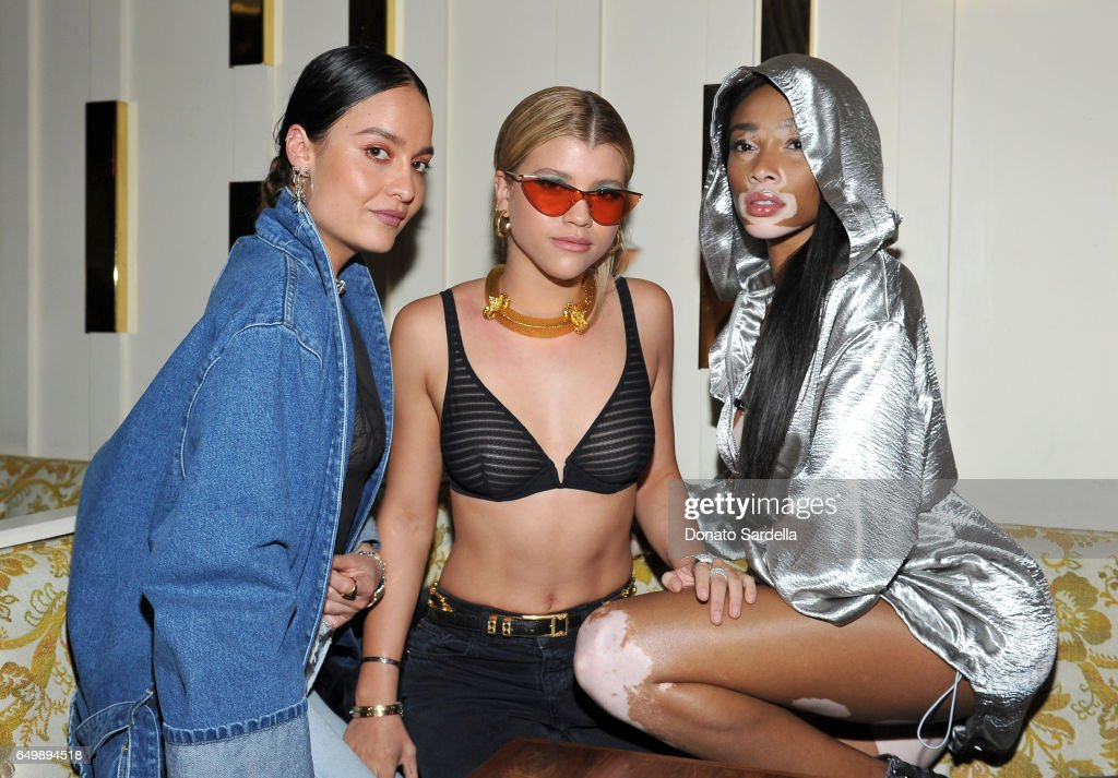 dl1961 campaign launch with sofia richie and jasmine sanders inside