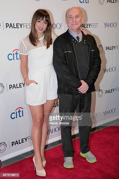 Chloe Bennet and Jeph Loeb attend the 2nd annual Paleyfest New York Presents 'Marvel Agents Of SHIELD' at Paley Center For Media on October 19 2014...