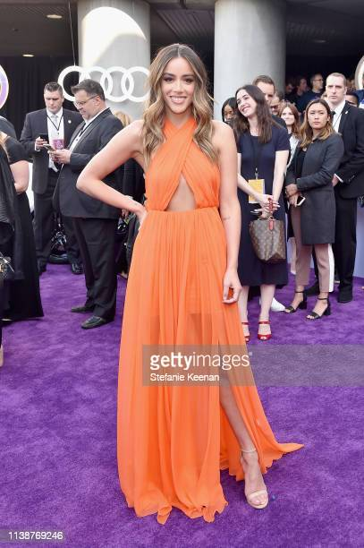 Chloe Bennet attends Audi Arrives At The World Premiere Of Avengers Endgame on April 22 2019 in Hollywood California