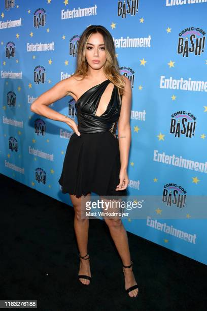 Chloe Bennet attends Entertainment Weekly's ComicCon Bash held at FLOAT Hard Rock Hotel San Diego on July 20 2019 in San Diego California sponsored...