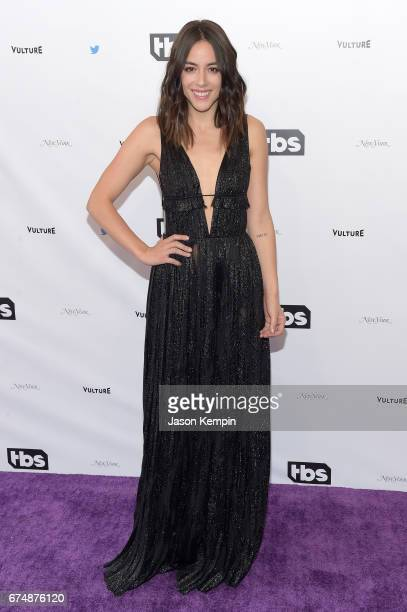 Chloe Bennet attends Full Frontal With Samantha Bee's Not The White House Correspondents' Dinner at DAR Constitution Hall on April 29 2017 in...