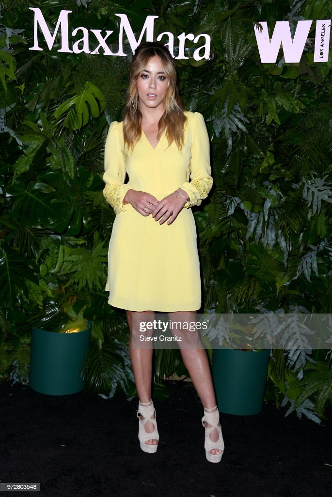 Chloe Bennet attends Max Mara WIF Face Of The Future at Chateau Marmont on June 12, 2018 in Los Angeles, California.