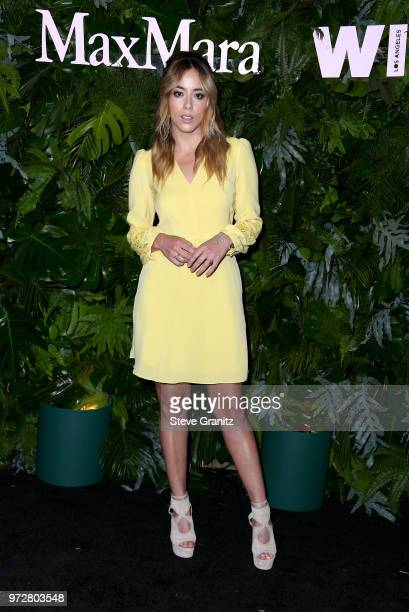 Chloe Bennet attends Max Mara WIF Face Of The Future at Chateau Marmont on June 12 2018 in Los Angeles California