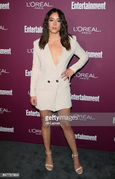 Chloe Bennet attends the 2017 Entertainment Weekly PreEmmy Party at Sunset Tower on September 15 2017 in West Hollywood California