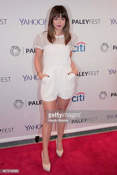 Chloe Bennet attends the 2nd annual Paleyfest New York Presents 'Marvel Agents Of SHIELD' at Paley Center For Media on October 19 2014 in New York...