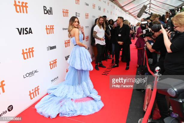"""Chloe Bennet attends the """"Abominable"""" premiere during the 2019 Toronto International Film Festival at Roy Thomson Hall on September 07, 2019 in..."""