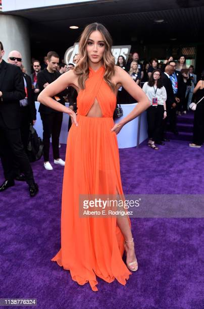 """Chloe Bennet attends the Los Angeles World Premiere of Marvel Studios' """"Avengers: Endgame"""" at the Los Angeles Convention Center on April 23, 2019 in..."""