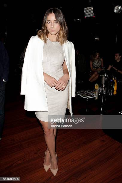 Chloe Bennet attends the Wolk Morais Collection 3 Fashion Show at The Standard Hollywood on May 24 2016 in West Hollywood California