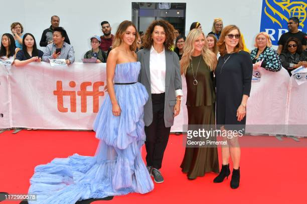Chloe Bennet Donna Langley Jill Culton and Margie Cohn attend the Abominable premiere during the 2019 Toronto International Film Festival at Roy...