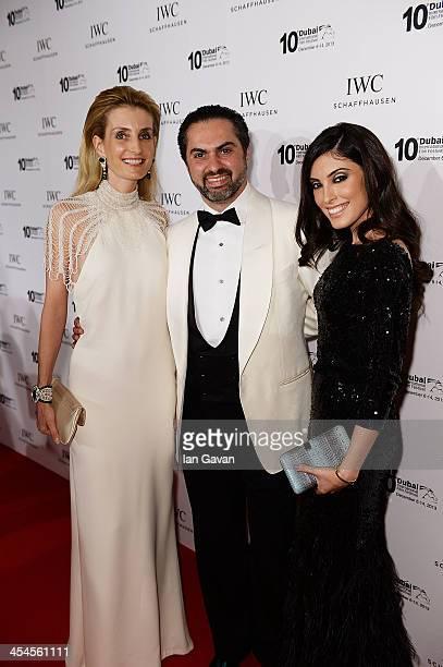 Chloe Bouillard Kamal Al Zarka and Tala Samman attend the IWC Schaffhausen For The Love Of Cinema IWC Filmmakers Award 2013 at One And Only Royal...