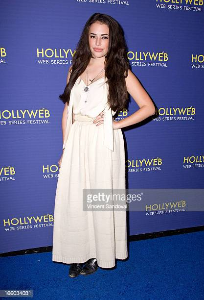 Chloe Bridges attends the 2nd annual HollyWeb Festival at Avalon on April 7 2013 in Hollywood California