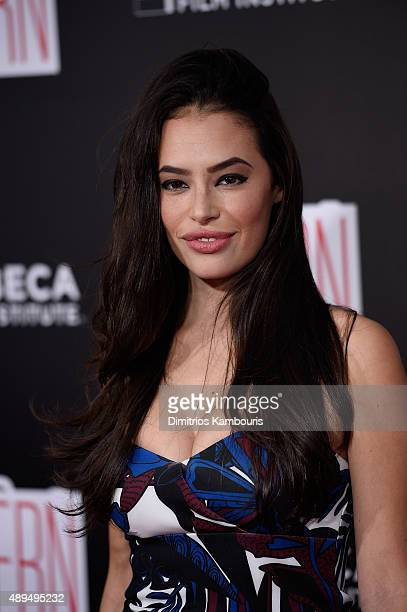 Chloe Bridges attends The Intern New York Premiere at Ziegfeld Theater on September 21 2015 in New York City
