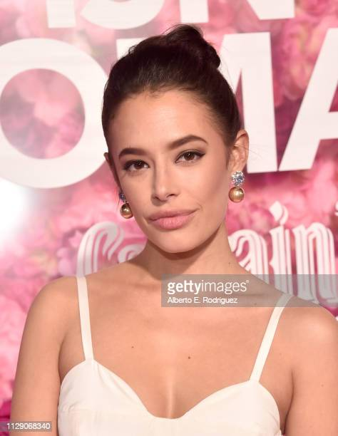 Chloe Bridges attends the World Premiere of Warner Bros Pictures' 'Isn't It Romantic' at The Theatre at Ace Hotel on February 11 2019 in Los Angeles...