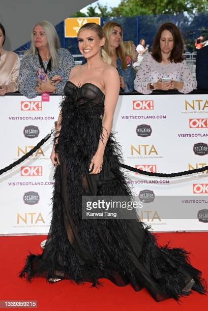 Chloe Burrows attends the National Television Awards 2021 at The O2 Arena on September 09, 2021 in London, England.