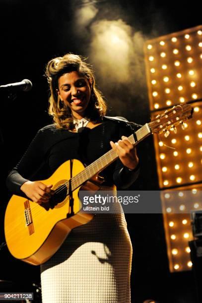 Chloe Charles die kanadische Saengerin und Songschreiberin live beim Reeperbahnfestival 2015 Konzert beim Musikfestival in den Clubs um die Hamburger...