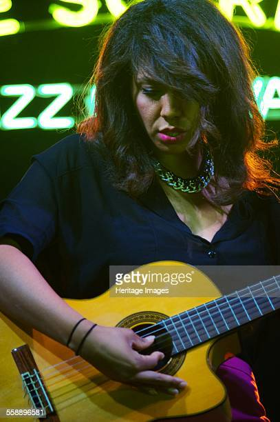 Chloe Charles Love Supreme Jazz Festival Glynde Place East Sussex 2014 Artist Brian O'Connor