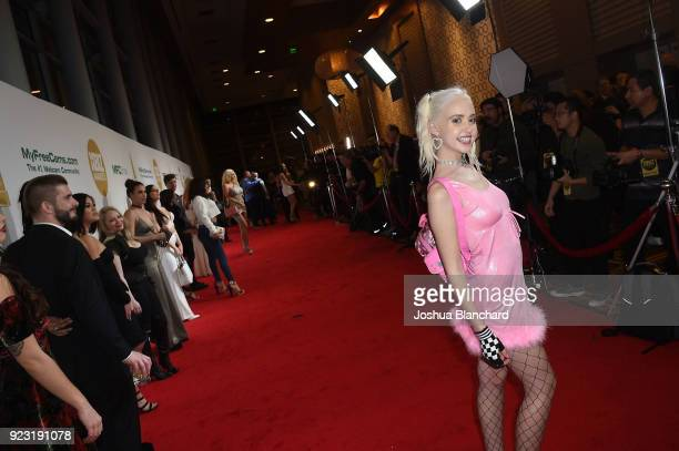 Chloe Cherry attends the 2018 XBIZ Awards on January 18 2018 in Los Angeles California