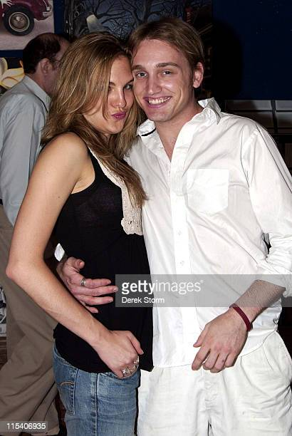 Chloe Cmarada and Ben Curtis during Name That Painting at Kostabi World July 7 2006 at JillMichele Melean Taylor Mead Walter Robinson Ben Curtis o in...