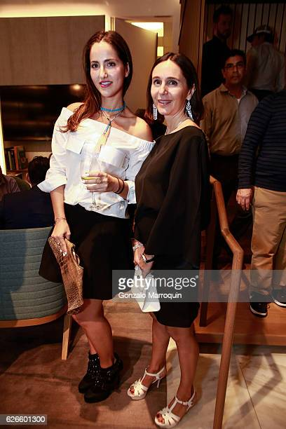 Chloe Cohen and Elizabeth Mambrettiat the Angelo Bonati Celebrates SHoP Architects the Winner of the 2016 Panerai Design Miami Visionary Award on...