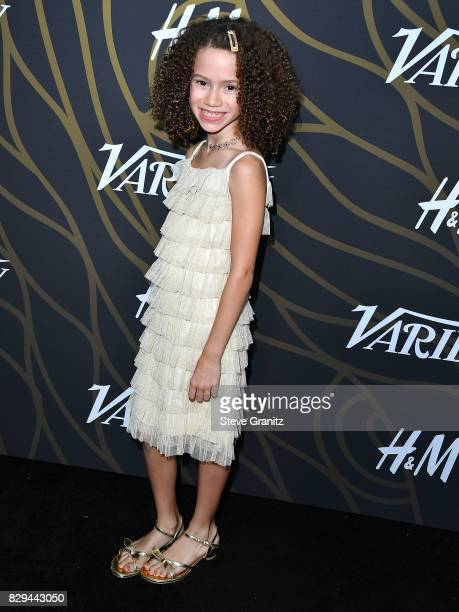 Chloe Coleman arrives at the Variety Power Of Young Hollywood at TAO Hollywood on August 8 2017 in Los Angeles California
