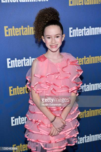 Chloe Coleman attends Entertainment Weekly PreSAG Celebration at Chateau Marmont on January 18 2020 in Los Angeles California