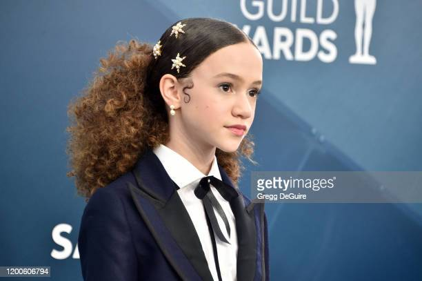Chloe Coleman attends the 26th Annual Screen ActorsGuild Awards at The Shrine Auditorium on January 19 2020 in Los Angeles California 721430