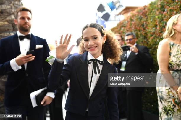 Chloe Coleman attends the 26th Annual Screen ActorsGuild Awards at The Shrine Auditorium on January 19 2020 in Los Angeles California 721384