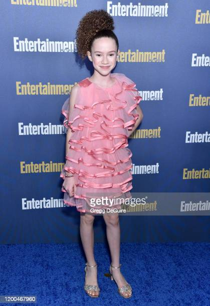 Chloe Coleman attends the Entertainment Weekly PreSAG Celebration at Chateau Marmont on January 18 2020 in Los Angeles California