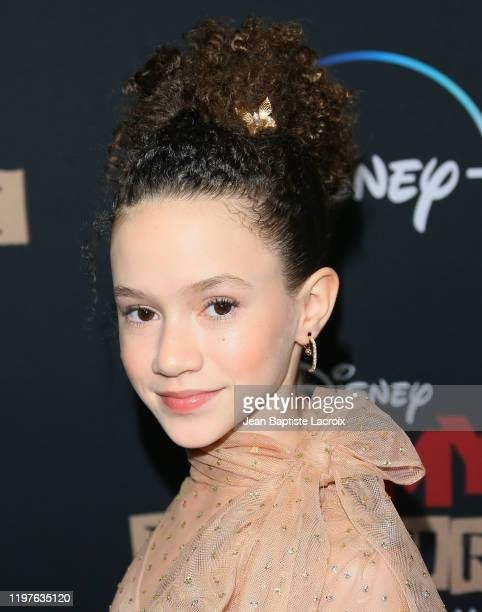 Chloe Coleman attends the premiere of Disney 's Timmy Failure Mistakes Were Made at El Capitan Theatre on January 30 2020 in Los Angeles California
