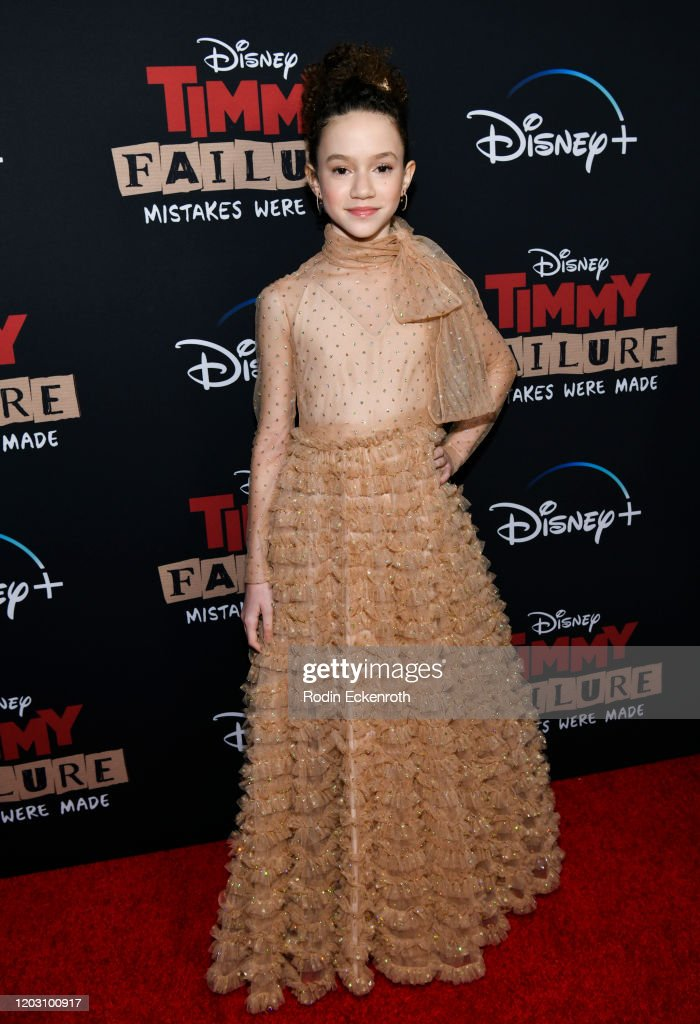 "Premiere Of Disney +'s ""Timmy Failure: Mistakes Were Made"" - Arrivals : News Photo"