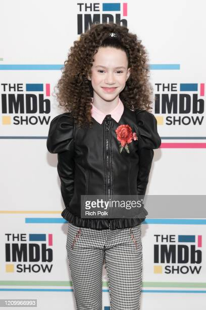 Chloe Coleman visit's 'The IMDb Show' on February 21 2020 in Santa Monica California This episode of 'The IMDb Show' airs on March 5 2020