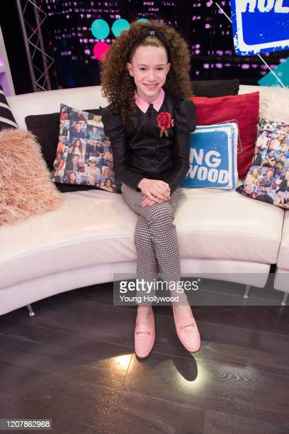 Chloe Coleman visits the Young Hollywood Studio on February 21 2020 in Los Angeles California