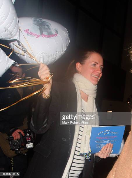 Chloe Delevingne at The Electric House for her Hen party on January 25 2014 in London England