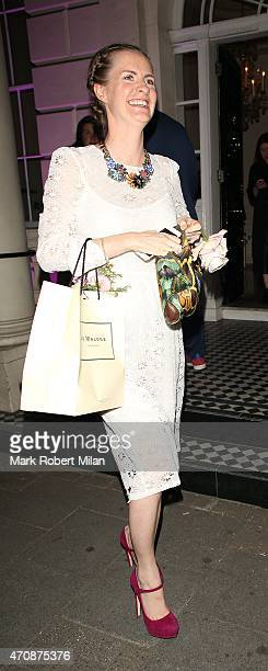 Chloe Delevingne attending a Jo Malone party at the Jo Malone HQ on April 23 2015 in London England