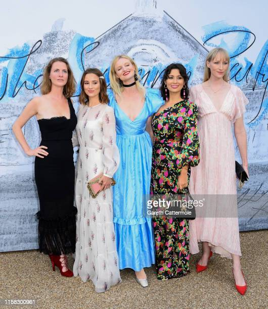 Chloe Delevingne Kelly Eastwood Candice Lake Jasmine Hemsley and Jade Parfitt attend The Summer Party 2019 Presented By Serpentine Galleries And...