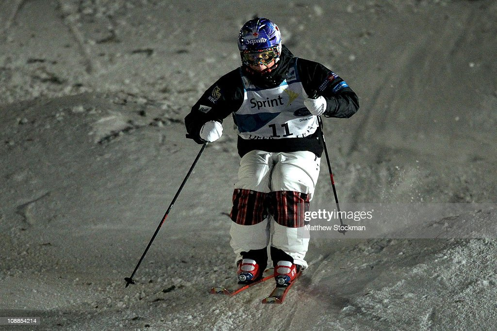 Chloe Dufour-Lapointe of Canada competes in the ladies' Dual Moguls final at the FIS Freestyle World Championships at Deer Valley Resort on February 5, 2011 in Park City, Utah.