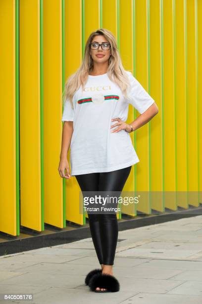 Chloe Ferry attends the Geordie Shore series 15 premiere photocall at MTV London on August 29 2017 in London England