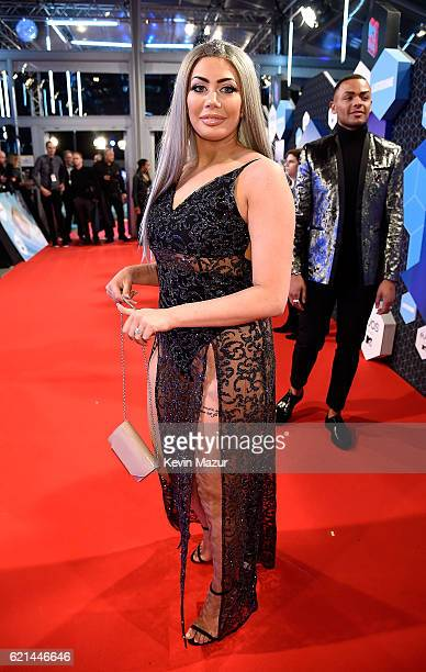 Chloe Ferry attends the MTV Europe Music Awards 2016 on November 6 2016 in Rotterdam Netherlands