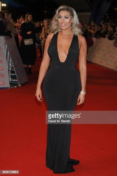 Chloe Ferry attends the National Television Awards 2018 at The O2 Arena on January 23 2018 in London England
