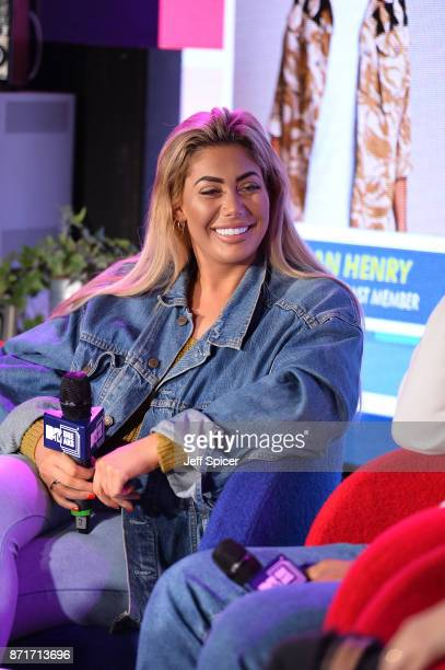 Chloe Ferry on stage during the House of MTV event as part of MTV Music Week at Hackney House on November 8 2017 in London England The MTV EMAs 2017...
